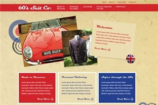 60s Suit Company New Website