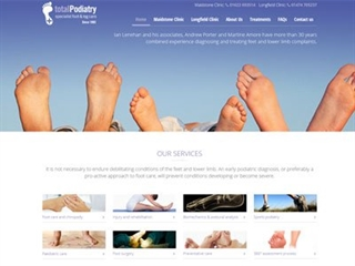 Total Podiatry Website